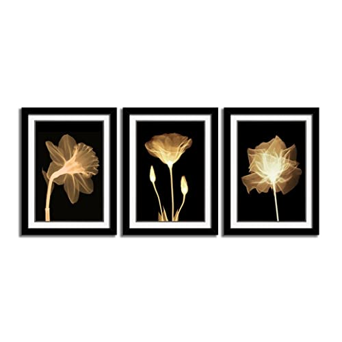 Black Gold White Pictures Wall Art Amazoncom