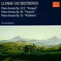 Piano Sonatas 31 28 53 by Beethoven (2008-12-01)