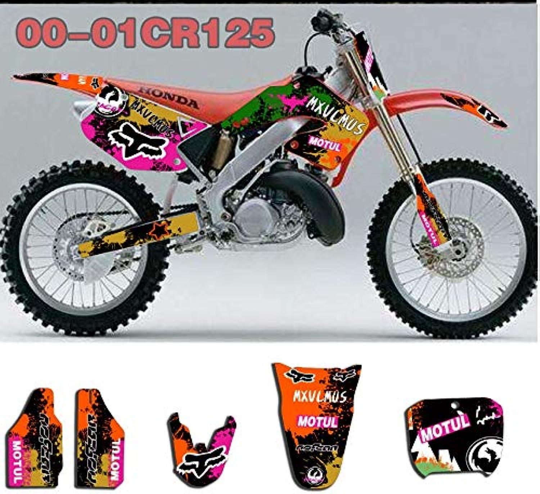 MX Graphics Stickers Kit Kit Kit Decals for Honda CR250 125 CR125R