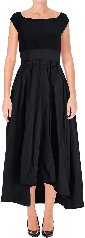 Lauren Ralph Lauren Womens Taffeta Sleeveless Evening Dress
