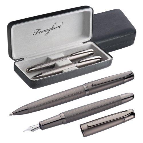 Ferraghini Schreibset F20903 *Kugelschreiber und Füllfederhalter Karolinien