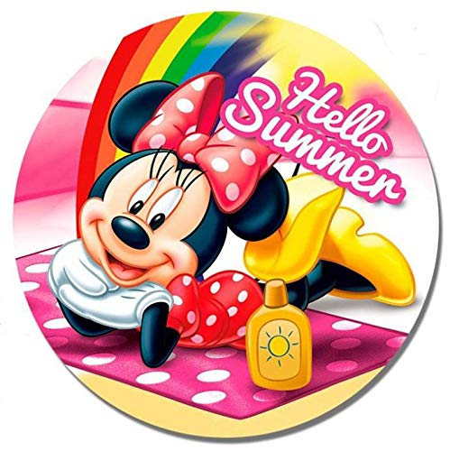 Disney Wd20279, Minnie Mouse - Toallas, Multicolor, Mediano
