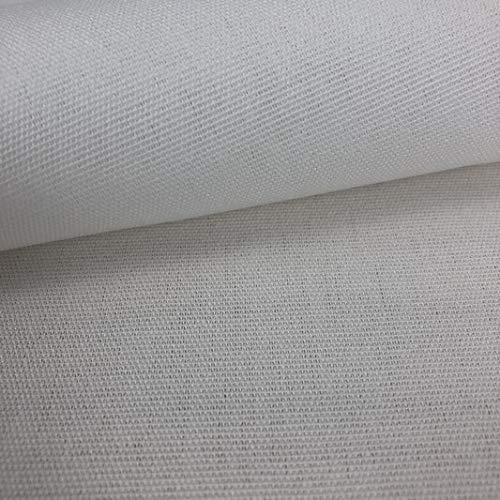 LAS TELAS ... Tela de Toldo Blanco con Teflón por Metros Ancho 3,20Mtr. 1 Mtr.