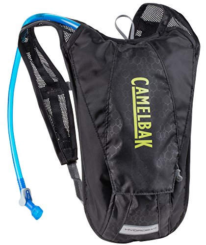 CamelBak Mochila de hidratación, 2 l (Black/Yellow, No aplicable)