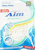 Aim Floss Picks Fresh Mint 90 Each (Pack of 4)