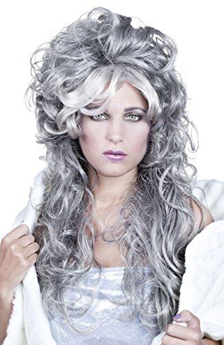 Boland- Perruque Ice Queen pour Adulte, 10103161, Gris, Taille Unique
