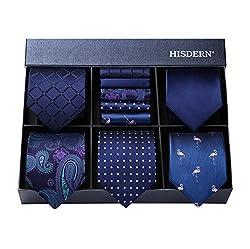Krawatten mit Einstecktuch Set