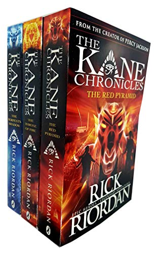 The Kane Chronicles Collection 3 Books Set Pack RRP: £28.97 (Rick Riordan)