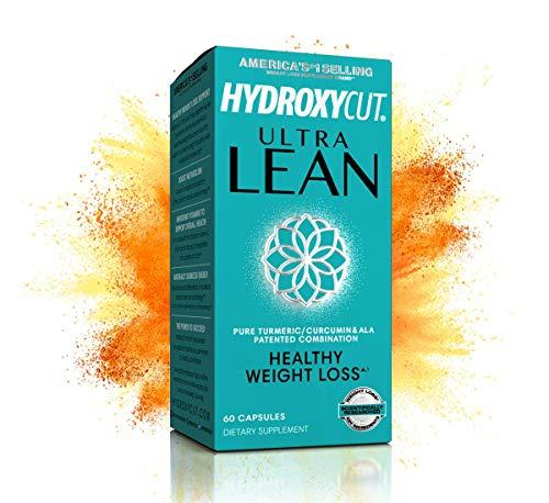 MuscleTech Hydroxycut Ultra Lean Healthy Weight Loss, Turmeric Curcumin and Alpha Lipoic Acid Supplement, 60 Pills