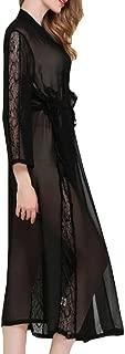 Womens Nightgown,Cotton Victorian Vintage Sleepwear Loungewear Long Sleeve Nightshirt Sleepdress
