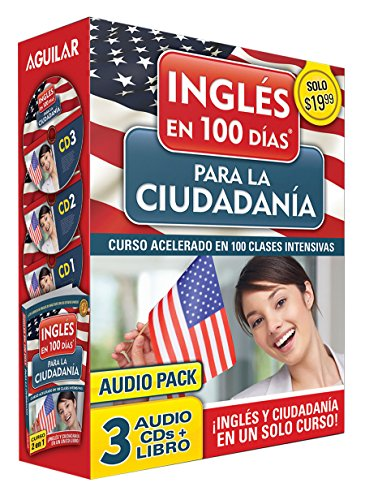 Curso de Inglés en 100 días para la ciudadanía / Prepare for Citizenship with English in 100 Days for Citizenship Audio Pack: Curso acelerado en 100 ... (Ingles En 100 Días / English in 100 Days)