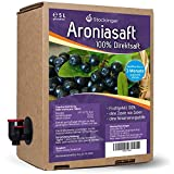 Obsthof Stockinger Aronia Muttersaft Bag in Box, 1x 5 l -