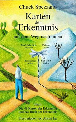 Karten der Erkenntnis auf dem Weg nach innen/Das Buch der Erkenntnis. Mit 48 Karten