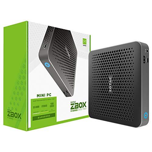 Zotac ZBOX Edge MI623 i3-10110U 2,1 GHz Nero ZBOX Edge MI623, Mini PC Barebone, DDR4-SDRAM, M.2,PCI Express, Collegamento ethernet LAN, Wi-Fi 5 (802.11ac), 65 W