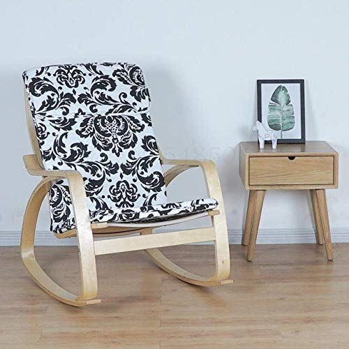 LJQLXJ divano Rocking Chair Lazy Sofa Balcony Chair Lounge Chair Pregnant Woman...
