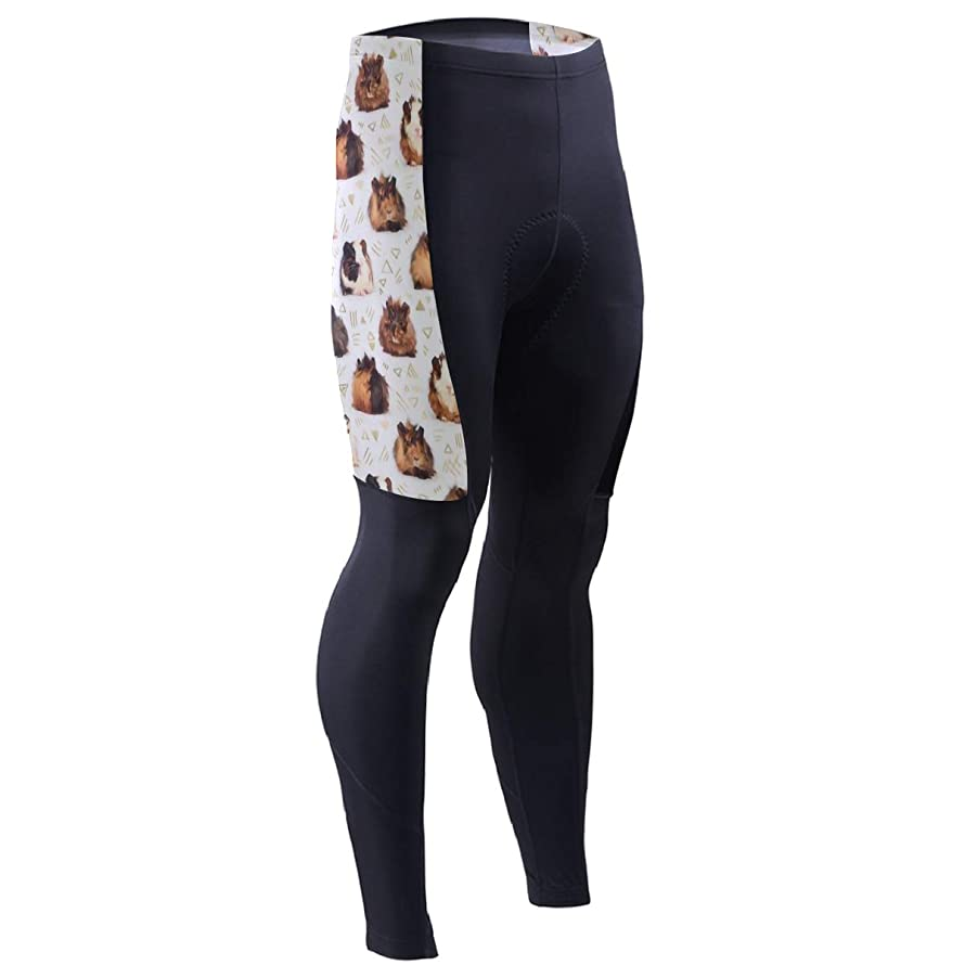 CFX-HY7 Guinea Pigs Men's Bike Cycling Pants, Compression Tights Leggings for Cyclist Outdoor Multi Sports Outdoor