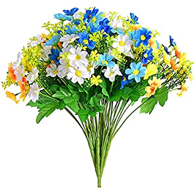 Artificial Fake Daisy Flowers Arrangements for ...
