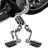 TCMT Long Adjustable Highway 1-1/4' 3.2CM Foot Peg Footrest Fits For Harley Touring Models