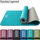 CORE BALANCE Tappetino Yoga in TPE - Spessore 6mm, Antiscivolo, Ecologico, Resistente, per Pilates...