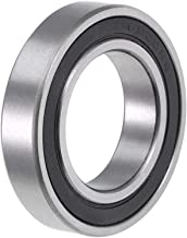 uxcell 6905-2RS Deep Groove Ball Bearing 25x42x9mm Double Sealed ABEC-1 Bearings 1-Pack