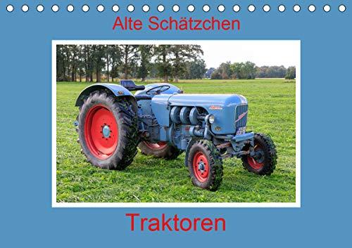 Alte Schätzchen - Traktoren (Tischkalender 2021 DIN A5 quer)
