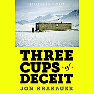 Three Cups of Deceit audiobook cover art