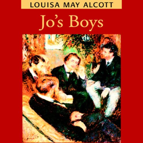 Jo's Boys  audiobook cover art