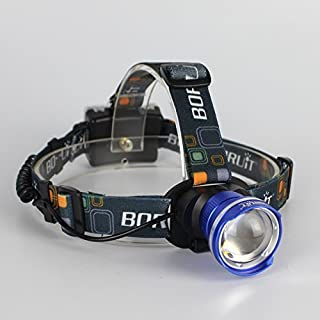 BESTSUN Super Bright LED Headlamp, T6 LED 2000 Lumens Focus Adjustable, Zoomable, AA Battery Powered, Water-resistant Headlight with 3 Modes for Runing, Hiking, Camping, Fishing, Hunting