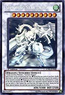 Yu-Gi-Oh! - Shooting Star Dragon (STBL-EN040) - Starstrike Blast - 1st Edition - Ghost Rare