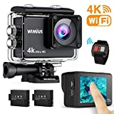 WiMiUS AI8000 Action Cam 4K WIFI HD 16MP Touch Screen...