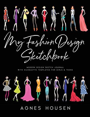 My Fashion Design Sketchbook Modern Des Buy Online In Kenya At Desertcart