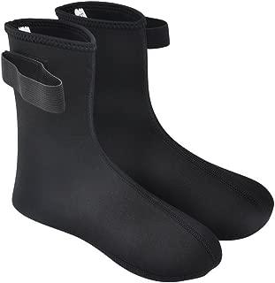 Vishusju 3mm Neoprene Fin Socks for Water Sports Diving Surfing