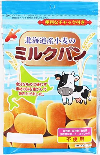 カネ増製菓 北海道小麦のミルクパン 45g ×12袋