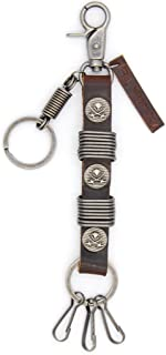 Ramble On Genuine Leather Key chain - Unique Style for Bikers, Cowboys, Punks