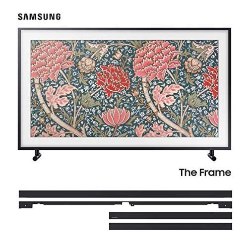 Best Buy! Samsung QN65LS03RA 65 The Frame 4K Ultra High Defintion Smart QLED TV with The Samsung VG...