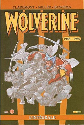 Wolverine Integrale T01 1988-1989