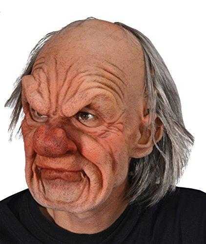 Zagone Studios Grumpy Man Costume Mask Adult One Size