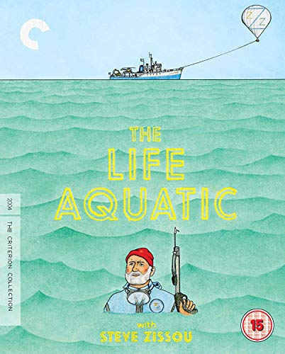 The Life Aquatic with Steve Zissou [The Criterion Collection] [Blu-ray]