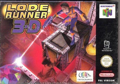 Lode Runner 3D - Nintendo 64 - PAL