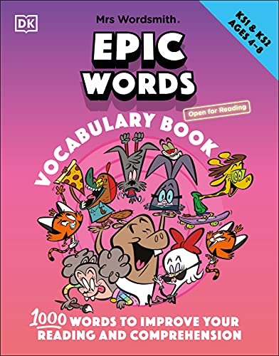 Mrs Wordsmith Epic Words Vocabulary Book, Ages 4-8 (Key Stages 1-2): 1,000...