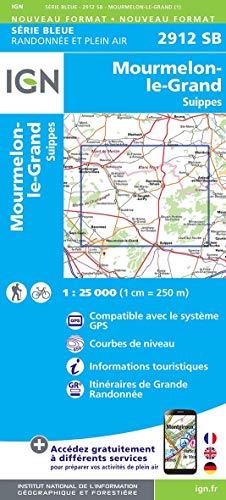 Monthois.Mourmelon-le-Grand 1:25 000