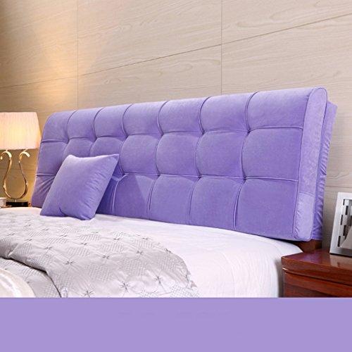 rfeifei Almohada de Almohada Grande Grande Almohada Grande de Color sólido 58 * 120 Cm (Color : G)