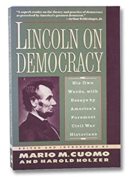 Paperback Lincoln on Democracy Book