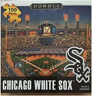 Dowdle Folk Art Chicago White Sox Puzzle (100 Piece)