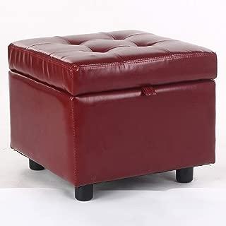 14x14inch QTQZ Peluche Coussin /épais,Coussins de Chaise de Bureau /étudiant Housses de Coussin Tabouret Rond Coussins de Chaise-Beige 35x35cm