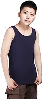 Cotton Chest Binder Tank Top para Tomboy Trans Lesbian