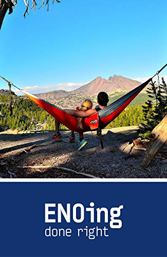 ENO - Eagles Nest Outfitters DoubleNest Print Lightweight Camping Hammock, 1 to 2 Person, Tie Dye V2