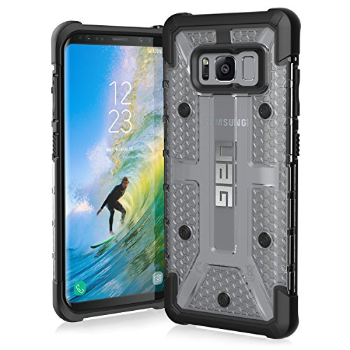 URBAN ARMOR GEAR UAG Samsung Galaxy S8 [5.8-Inch Screen] Plasma [Ice] Feather-Light Rugged Military Drop Tested Protective Cover