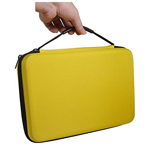 Bestshoot Large Carrying Case Storage Bag with Customizable Foam for Sports Camera Hero6 Hero 5 4 3 3+ Session SJCAM SJ6000