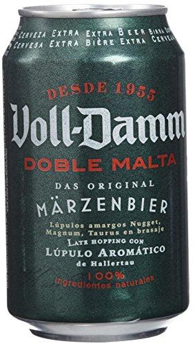 Voll Damm - Doble Malta- Cerveza - 330 ml